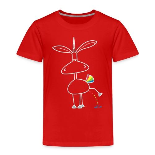 Dru - bunt pinkeln - Kinder Premium T-Shirt