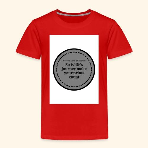 So is life s journey - Kids' Premium T-Shirt