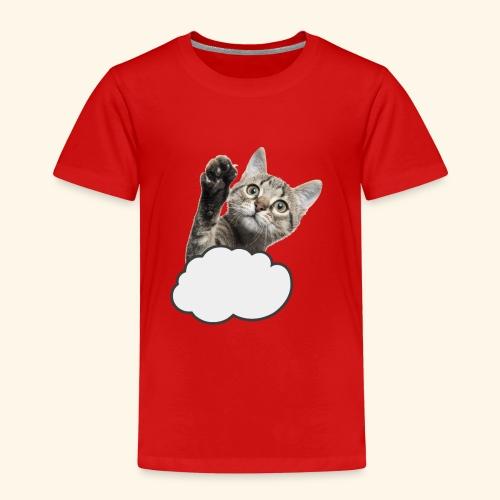 FLYING CAT - Kinder Premium T-Shirt