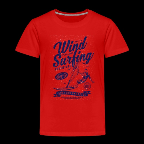 Wind Surfing - Kinder Premium T-Shirt
