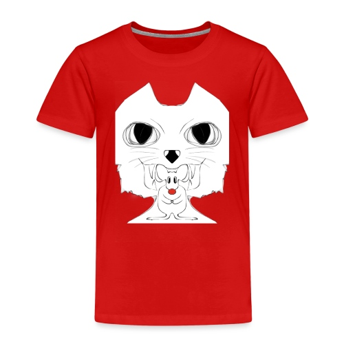 Cat and Mouse - Kinder Premium T-Shirt