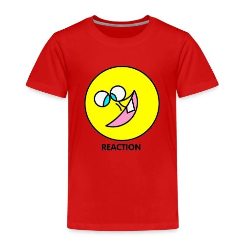 REACTION - Maglietta Premium per bambini