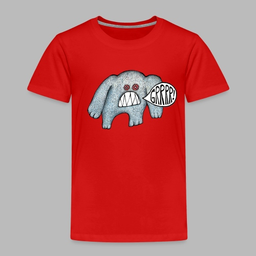 with added GRRRR - Kids' Premium T-Shirt