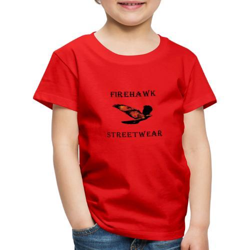 Fiery Hawk - Kids' Premium T-Shirt