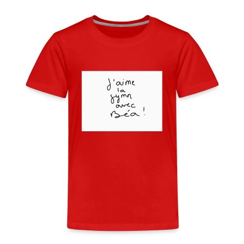 Gymn avec Bea - T-shirt Premium Enfant