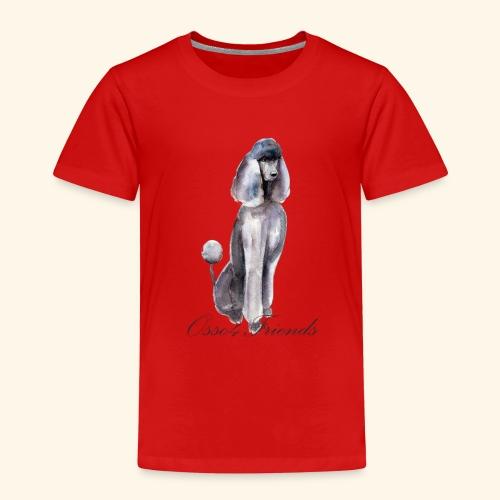 MISS POODLE - Maglietta Premium per bambini