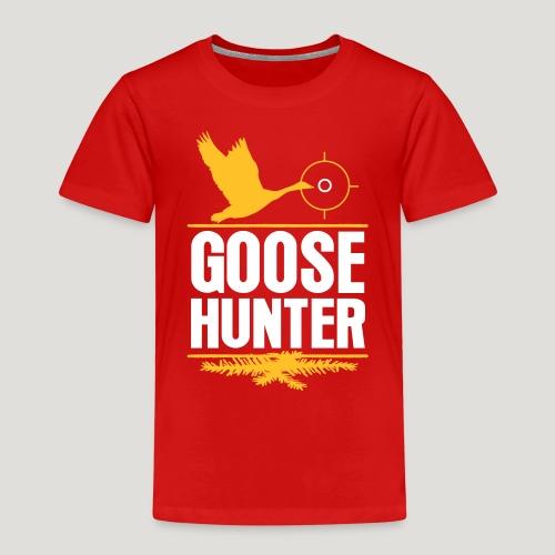 Jägershirt Gänse Jäger Goose Hunter Wildgans Jagd - Kinder Premium T-Shirt
