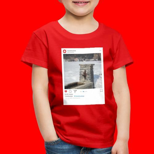 travelsuisse - Brunnen Trin - Kinder Premium T-Shirt