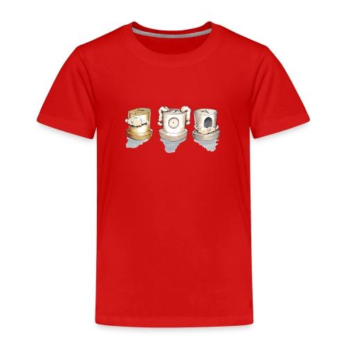 see no evil ver.0.3 Rasmus Balstrøm - Børne premium T-shirt