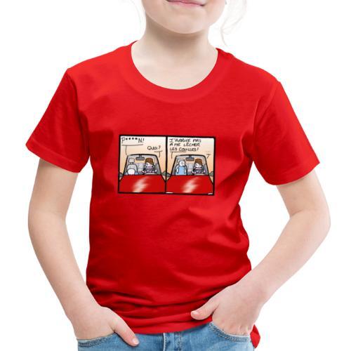 comme le chat - T-shirt Premium Enfant