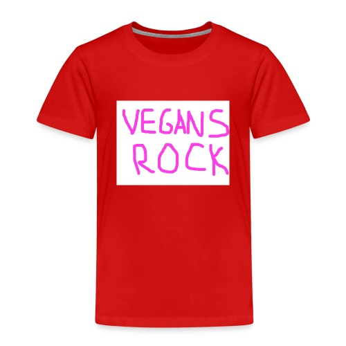 VEGANS ROCK - Kids' Premium T-Shirt