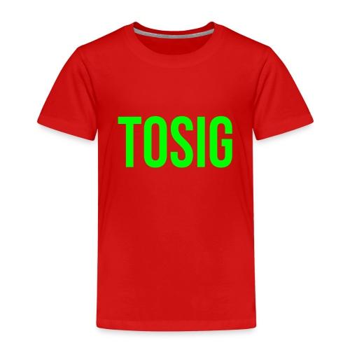 tosig - Premium-T-shirt barn