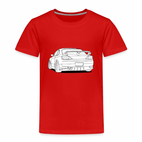 cool car white - Kids' Premium T-Shirt