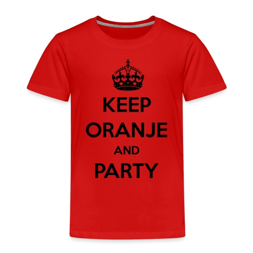KEEP ORANJE AND PARTY - Kinderen Premium T-shirt