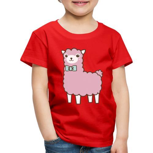 fluffy Lama - Kinder Premium T-Shirt