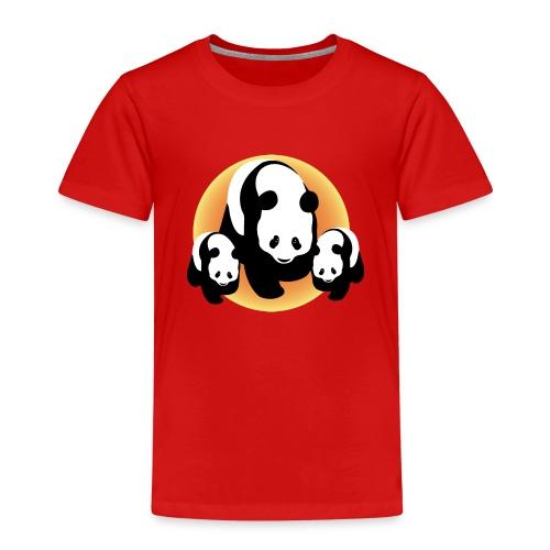 Chineese Panda's - Kinderen Premium T-shirt