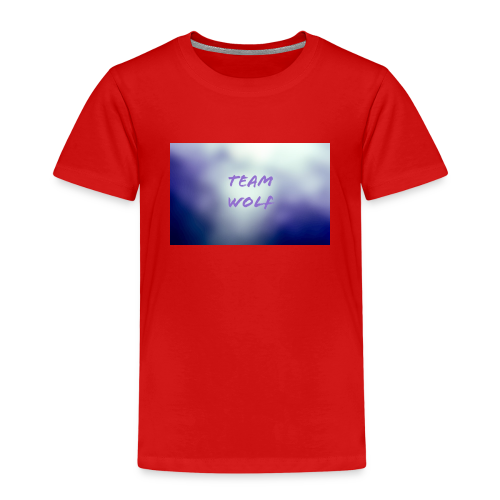 Team Wolf Box - Kids' Premium T-Shirt