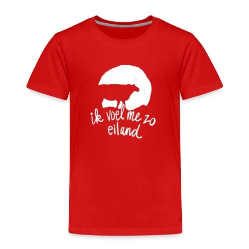 Ik voel me zo eiland - Kinderen Premium T-shirt