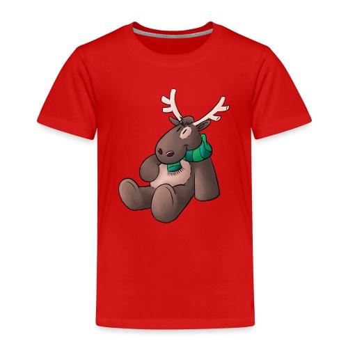 Elch - Kuschelelch sitzend - Kinder Premium T-Shirt