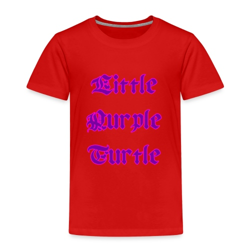 Little Purple Turtle - Kids' Premium T-Shirt