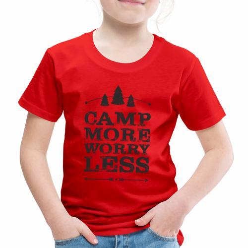 Camp more schwarz - Kinder Premium T-Shirt