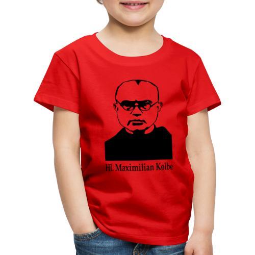 Hl. Maximilian Kolbe - Kinder Premium T-Shirt