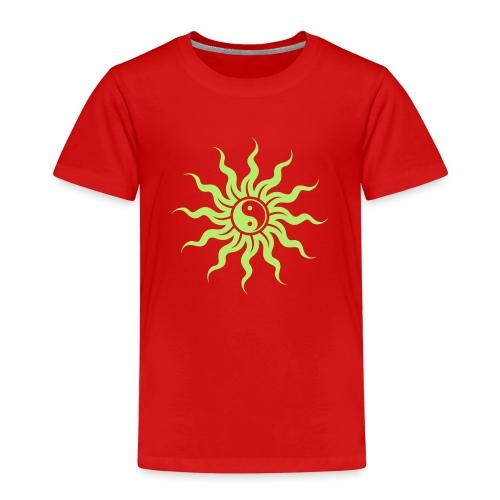Yin Yang Sonne - Kinder Premium T-Shirt
