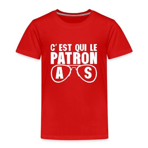 c est qui le patron lunette as poker - T-shirt Premium Enfant