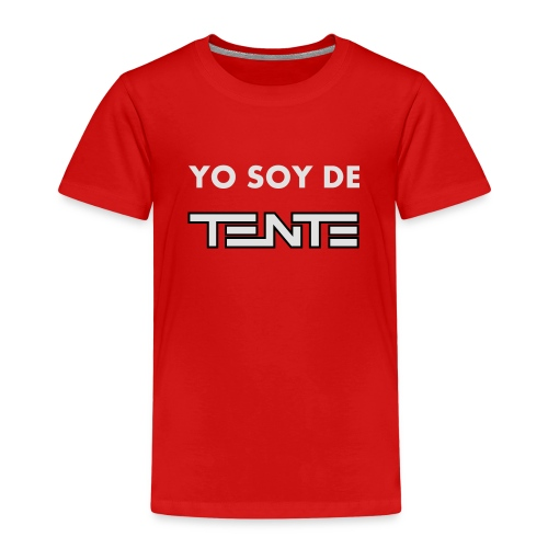 Yo soy de TENTE - Camiseta premium niño