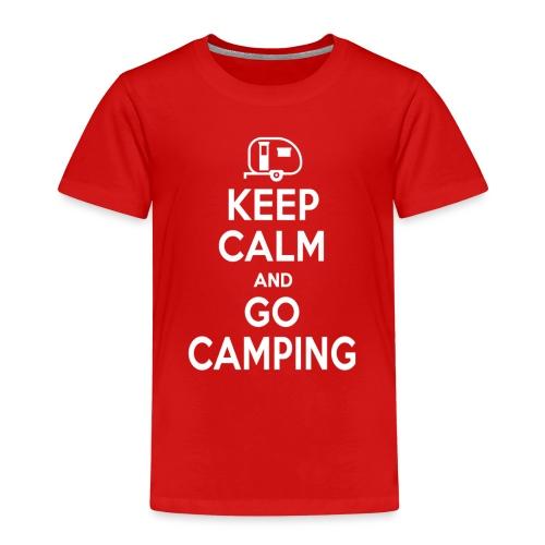 keepcalmgocamping png - Maglietta Premium per bambini