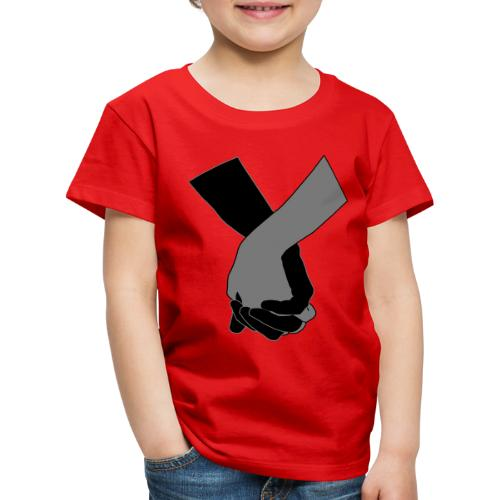 Holding Hands - Kinder Premium T-Shirt