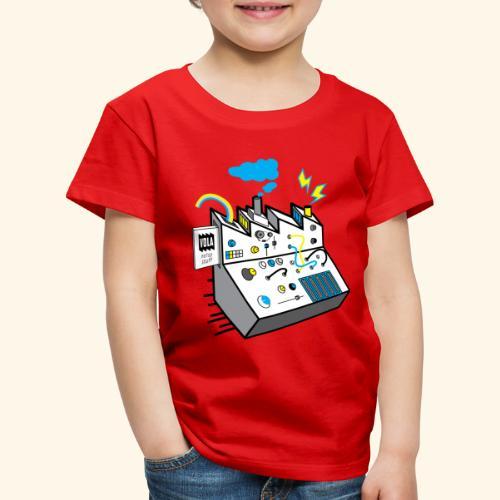 Noisy Factory - Lasten premium t-paita