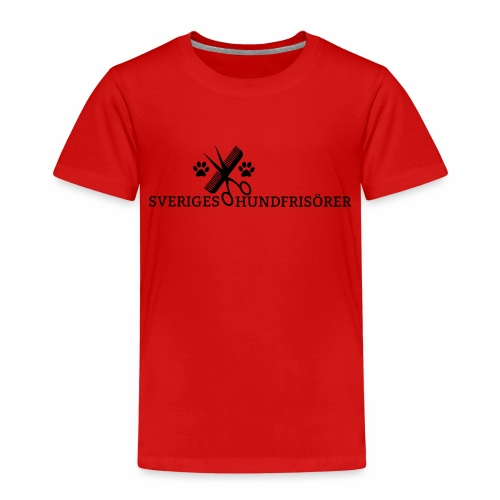 SVHFs rektangulära logo - Premium-T-shirt barn