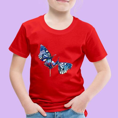Coppia di farfalle - Maglietta Premium per bambini