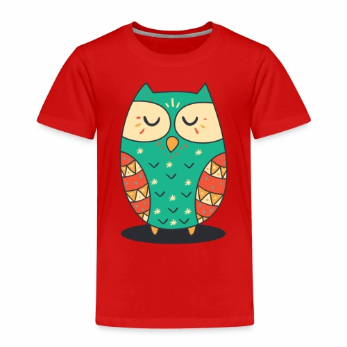 Cute Owl - Kinder Premium T-Shirt