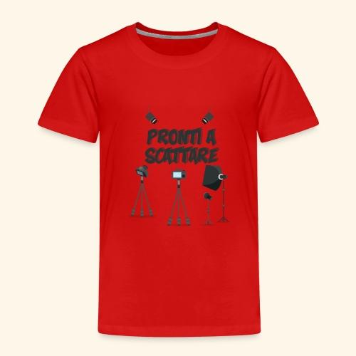 pronti a scattare - Maglietta Premium per bambini