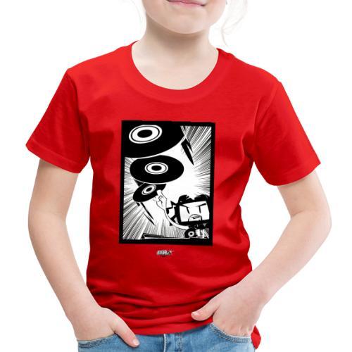 Vinylist black & white - Kinder Premium T-Shirt