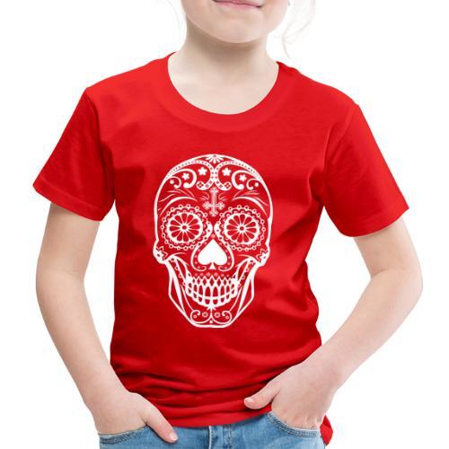 Skull white - Kinder Premium T-Shirt