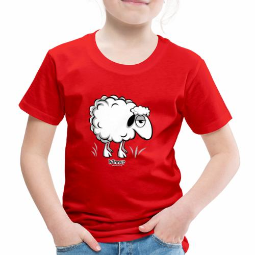 10-46 WINNER SHEEP - Products - Lasten premium t-paita