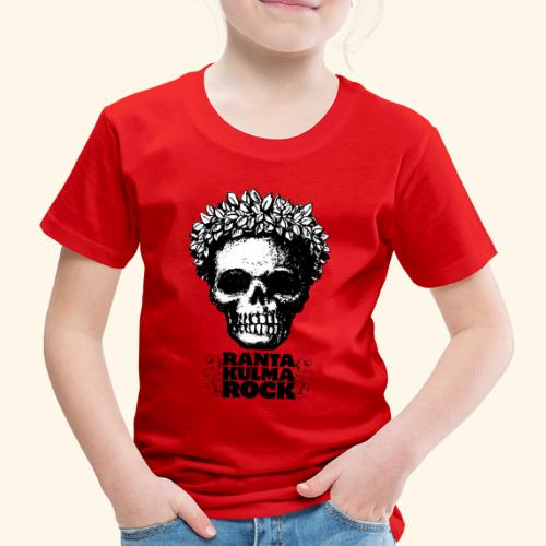 Skulli ja Rantakulmarock - Lasten premium t-paita