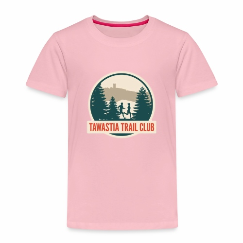 TawastiaTrailClub - Lasten premium t-paita