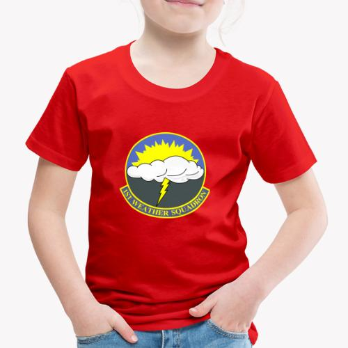 1st Weather Squadron - Kinder Premium T-Shirt
