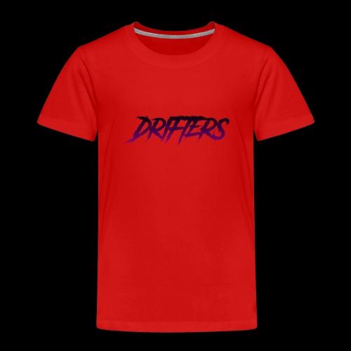 Drifters purple basic logo - Maglietta Premium per bambini