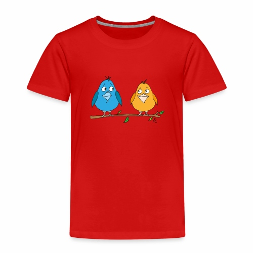 Birds - Kinder Premium T-Shirt