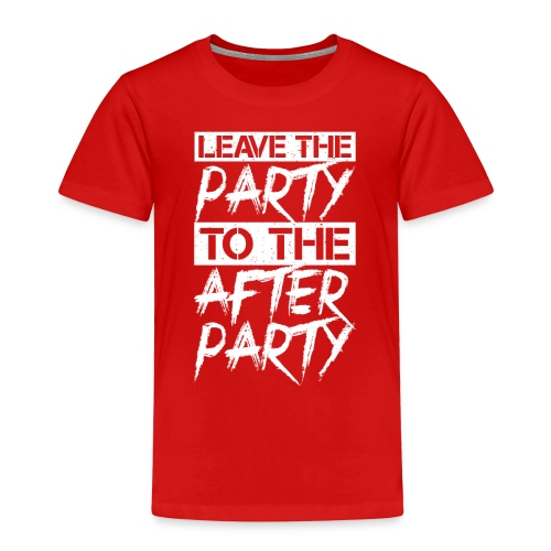 AFTER PARTY WHITE - Kinderen Premium T-shirt