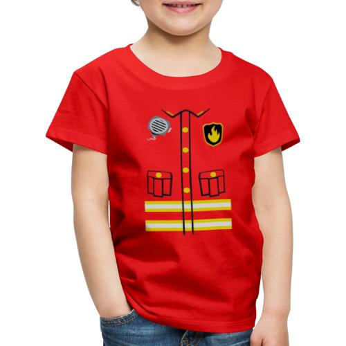 Firefighter Costume - Kids' Premium T-Shirt