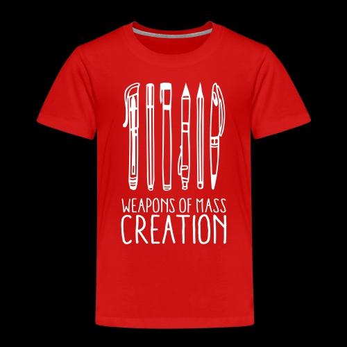 Weapons of mass creation (1c) - T-shirt Premium Enfant