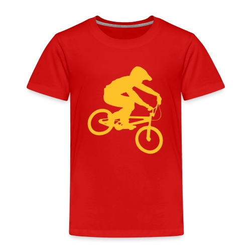 Bmx Rider One colour - Kinderen Premium T-shirt