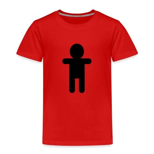 Picto Homme - Noir - T-shirt Premium Enfant