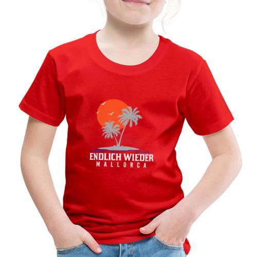 Endlich wieder Mallorca! Mallorca - Geschenkidee - Kinder Premium T-Shirt